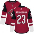Cheap Adidas Coyotes #23 Oliver Ekman-Larsson Maroon Home Authentic Women's Stitched NHL Jersey