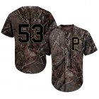 Cheap Pirates #53 Melky Cabrera Camo Realtree Collection Cool Base Stitched MLB Jersey