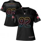 Cheap Nike 49ers #7 Colin Kaepernick Pink Women's Stitched NFL Limited Rush Fashion Jersey