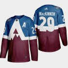Cheap Adidas Avalanche #96 Mikko Rantanen Black 1917-2017 100th Anniversary Stitched NHL Jersey