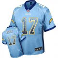 Cheap Nike Chargers #17 Philip Rivers Electric Blue Alternate Youth Stitched NFL Elite Drift Fashion Jersey