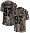 Cheap Nike Raiders #97 Maliek Collins Camo Youth Stitched NFL Limited Rush Realtree Jersey