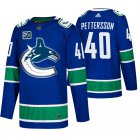 Cheap Men's Vancouver Canucks #40 Elias Pettersson Adidas Blue 2019-20 Home Authentic NHL Jersey