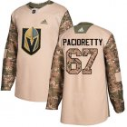 Cheap Adidas Golden Knights #67 Max Pacioretty Camo Authentic 2017 Veterans Day Stitched Youth NHL Jersey