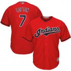 Cheap Indians #7 Kenny Lofton Red Stitched Youth MLB Jersey