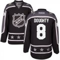 Cheap Kings #8 Drew Doughty Black 2017 All-Star Pacific Division Stitched Youth NHL Jersey