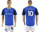 Cheap Everton #10 Rooney Home Soccer Club Jersey