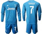 Cheap Juventus #7 Ronaldo Third Long Sleeves Soccer Club Jersey