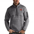 Cheap Tampa Bay Buccaneers Antigua Fortune Quarter-Zip Pullover Jacket Charcoal