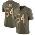 Cheap Nike Rams #54 Leonard Floyd Olive/Gold Youth Stitched NFL Limited 2017 Salute To Service Jersey