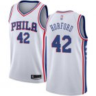 Cheap 76ers #42 Al Horford White Basketball Swingman Association Edition Jersey