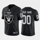 Cheap Las Vegas Raiders Custom Black Men's Nike Big Team Logo Vapor Limited NFL Jersey
