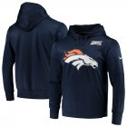Cheap Denver Broncos Nike NFL 100 Primary Logo Circuit Performance Pullover Hoodie Navy