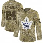 Cheap Men's Toronto Maple Leafs Black Camo Stack T-Shirt