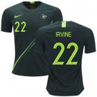 Cheap Australia #22 Irvine Away Soccer Country Jersey