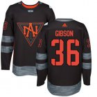 Cheap Team North America #36 John Gibson Black 2016 World Cup Stitched NHL Jersey