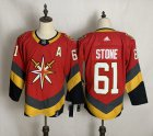 Cheap Men's Vegas Golden Knights #61 Mark Stone Red Adidas 2020-21 Alternate Authentic Player NHL Jersey
