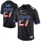 Cheap Boise State Broncos 27 Jay Ajayi Black USA Flag College Football Jersey