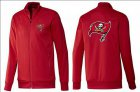 Cheap NFL Tampa Bay Buccaneers Team Logo Jacket Red_1