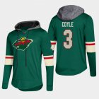Cheap Wild #3 Charlie Coyle Green 2018 Pullover Platinum Hoodie