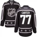 Cheap Kings #77 Jeff Carter Black 2017 All-Star Pacific Division Stitched Youth NHL Jersey