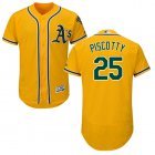 Cheap Athletics #25 Stephen Piscotty Gold Flexbase Authentic Collection Stitched MLB Jersey