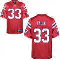 Cheap Patriots #33 Kevin Faulk Red Alternate Stitched NFL Jersey
