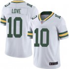 Cheap Youth Green Bay Packers #10 Jordan Love White Limited Vapor Untouchable Jersey