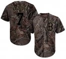 Cheap Red Sox #7 Christian Vazquez Camo Realtree Collection Cool Base Stitched MLB Jersey