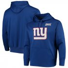 Cheap New York Giants Nike 100th Season Primary Logo Circuit Performance Pullover Hoodie Royal