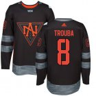 Cheap Team North America #8 Jacob Trouba Black 2016 World Cup Stitched NHL Jersey