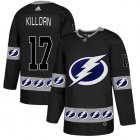 Cheap Adidas Lightning #17 Alex Killorn Black Authentic Team Logo Fashion Stitched NHL Jersey