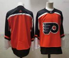 Cheap Men's Philadelphia Flyers Blank Orange Adidas 2020-21 Stitched NHL Jersey