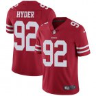 Cheap Nike 49ers #92 Kerry Hyder Red Team Color Youth Stitched NFL Vapor Untouchable Limited Jersey