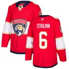 Cheap Adidas Panthers #6 Anton Stralman Red Home Authentic Stitched NHL Jersey