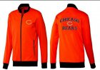 Cheap NFL Chicago Bears Heart Jacket Red