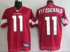 Cheap Cardinals #11 Larry Fitzgerald Red Stitched NFL Jersey