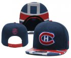 Cheap Montreal Canadiens Snapback Ajustable Cap Hat YD