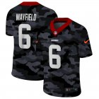Cheap Cleveland Browns #6 Baker Mayfield Men's Nike 2020 Black CAMO Vapor Untouchable Limited Stitched NFL Jersey