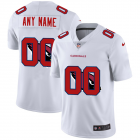 Cheap Arizona Cardinals Custom White Men's Nike Team Logo Dual Overlap Limited NFL Jersey