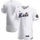 Cheap New York Mets Men's Nike White Home 2020 Authentic Official Team MLB Jersey