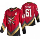 Cheap Vegas Golden Knights #61 Mark Stone Red Men's Adidas 2020-21 Reverse Retro Alternate NHL Jersey