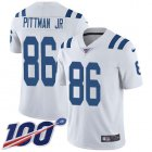 Cheap Nike Colts #86 Michael Pittman Jr. White Youth Stitched NFL 100th Season Vapor Untouchable Limited Jersey