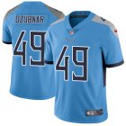 Cheap Nike Titans #49 Nick Dzubnar Light Blue Alternate Youth Stitched NFL Vapor Untouchable Limited Jersey
