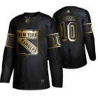 Cheap Adidas Rangers #10 Artemi Panarin Men's 2019 Black Golden Edition Authentic Stitched NHL Jersey