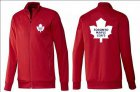 Cheap NHL Toronto Maple Leafs Zip Jackets Red