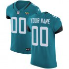 Cheap Nike Jacksonville Jaguars Customized Teal Green Team Color Stitched Vapor Untouchable Elite Men's NFL Jersey