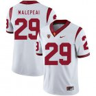 Cheap USC Trojans 29 Vavae Malepeai White College Football Jersey