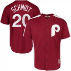 Cheap Philadelphia Phillies #20 Mike Schmidt Majestic 1979 Saturday Night Special Cool Base Cooperstown Player Jersey Maroon