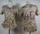 Cheap Padres #46 Craig Kimbrel Camo Alternate 2 Women's Stitched MLB Jersey